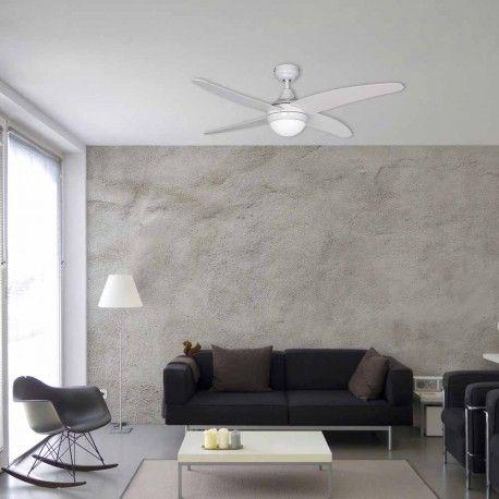 Ventilador De Techo Posibilidad De Colocar Iluminacion Incluye Mando A Distancia Para Regular La Velocidad Tres Posici Ventiladores De Techo Techo Techo Led