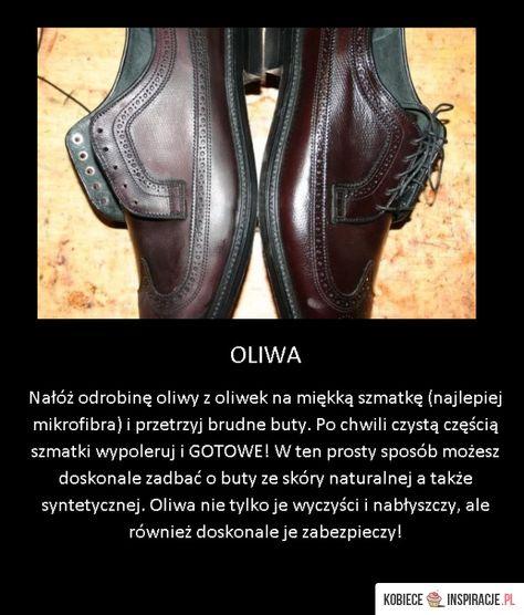 Sign In Kobieceinspiracje Pl Recipe Household Remedies Life Hacks Dress Shoes Men