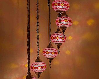 Hanging Lamp Turkish Lamp Moroccan Lamp Hanging Ceiling Light Etsy In 2020 Turkish Lamps Moroccan Lamp Hanging Lamp