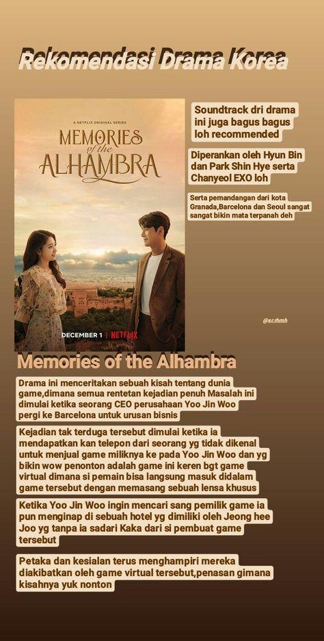 Nonton Drama Memories Of The Alhambra : nonton, drama, memories, alhambra, Film,, Bagus,, Romantis