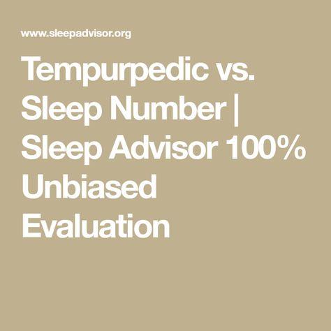 Tempurpedic Vs Sleep Number >> Tempurpedic Vs Sleep Number Comparison My Board Sleep
