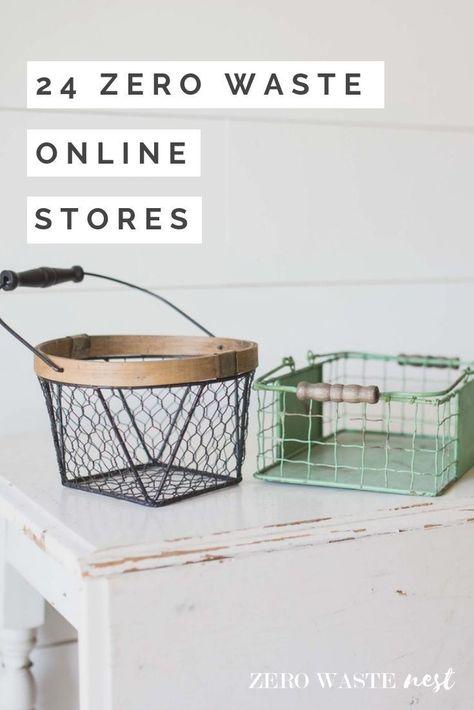 35 Zero Waste Online Stores - Zero Waste Nest