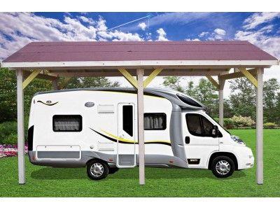 Special Camping Car 150 Votre Carport Auvent Avec Double Pente Avec Couverture Bardeau Bitume Surface Exteri Abri Camping Car Garage Camping Car Camping Car