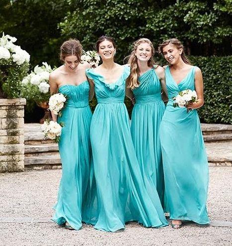 Vestidos Para Damas De Matrimonio Color Azul Las Mejores
