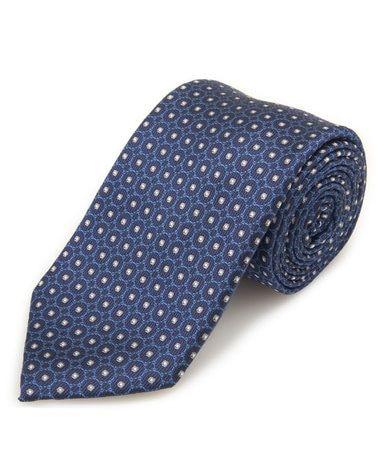 Santorelli Mens Woven Silk Tie