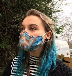 Diy Cloth Face Mask In 2020 Face Mask Tutorial Diy Face Mask Mask