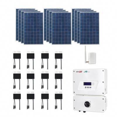 Grape Solar 3 180 Watt Expandable Poly Crystalline Pv Grid Tied Solar Power Kit In 2020 Solar Power Kits Solar Power Diy Solar Power Panels