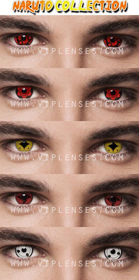 Naurto contact lenses part 1, what is your favourite Madara, Uchiha Sasuke, Naruto Shukaku, Shisui or the White Sharingan, either way they all look good on the eyes.