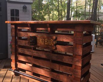 Chest Of Drawers From Wooden Pallets Outdoor Pallet Bar Pallet Bar Tiki Bar