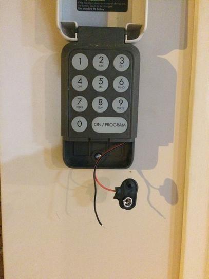 Ryobi Garage Door Outdoor Wireless Keypad Gda300 Garage Doors