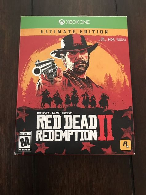 Red Dead Redemption 2 Ultimate Edition Xbox One Reddeadredemption Gaming Xboxone Red Dead Redemption Xbox One Redemption