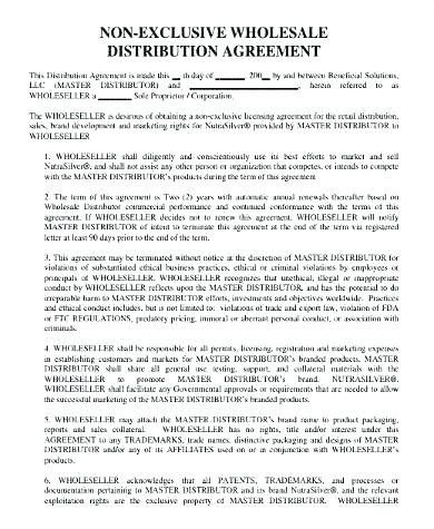 Software Reseller Agreement Template Beautiful Distributor Contract Agreement Template Marketing Plan Example Marketing Plan Template Contract Template
