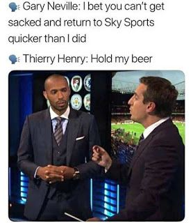 Thierry Henry Memes Football Memes Funny Football Memes Football Funny