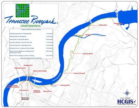 TN Riverwalk Map | Chattanooga | Pinterest | River walk, Chattanooga on