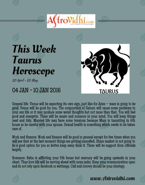 january 10 horoscope taurus or taurus