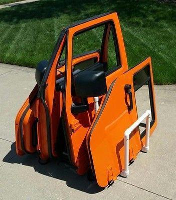 Full Holds 4 Jeep® Wrangler Doors Half Door Holder Storage Rack