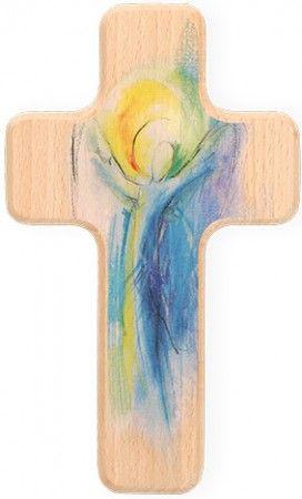 Holzkreuz Engel Der Freude Wandkreuz Holzkreuz Kreuze