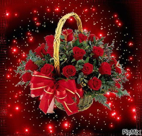 Gifs Hermosos Flores Encontradas En La Web Geburtstag Blumen