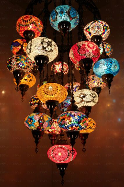 Turkish Lamp Mosaic Chandelier Shade Tiffany 25 Globe Set Moroccan Lamp H736 Turkish Mosaic Lamp Turkish Lamps Mosaic Lamp