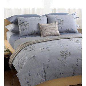 Calvin Klein Home Bamboo Flower King Comforter Hyacinth Misc
