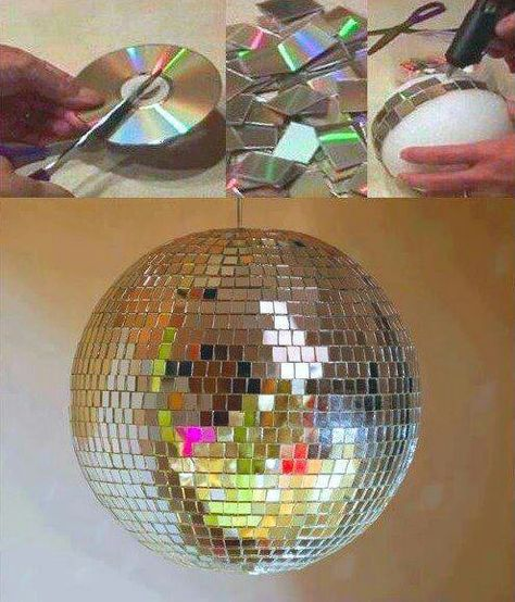 commence plans for a GIANT disco ball
