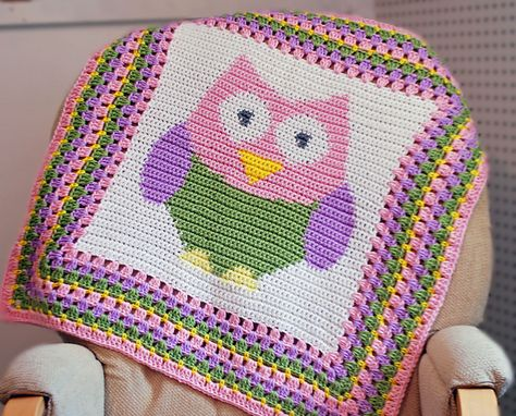 Ravelry: Little Owl Afghan pattern by Stephanie Oltmann