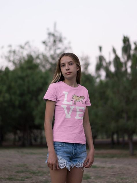 I Love Heart Reptiles T-Shirt