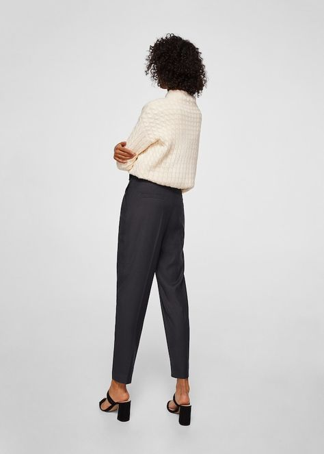 AU 8-24 Women Summer Loose Baggy Cropped Pants Capris Cargo High Waist Trousers