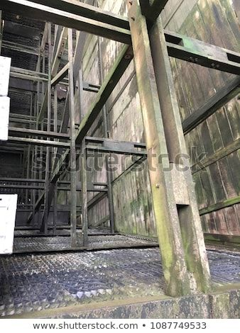 Structure Of Cooling Tower Between Shutdown For Cleaning To