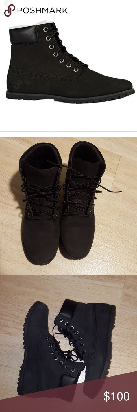 black size 6.5. Timberland Shoes
