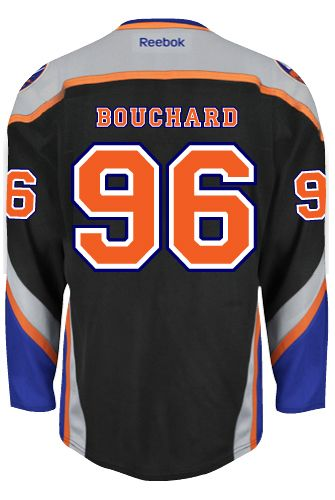 New York Islanders Pierre-Marc BOUCHARD  96 Official Third Reebok Premier  Replica NHL Hockey Jersey (HAND SEWN CUSTOMIZATION)  861eb4f0e