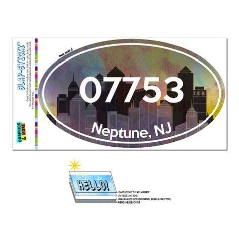 Murfreesboro Tennessee Oval Vinyl Decal Sticker City Town College University