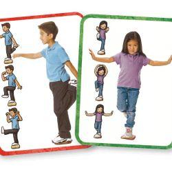 LES CARTES YOGA: travailler l'EQUILIBRE des enfants