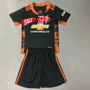 2020 21 Goalie Youth Kit Manutd Black Replica Soccer Kids Suit 2020 21 Goalie Youth Kit Manchester United Black Replica So In 2020 Soccer Kits Kids Suits Soccer Jersey