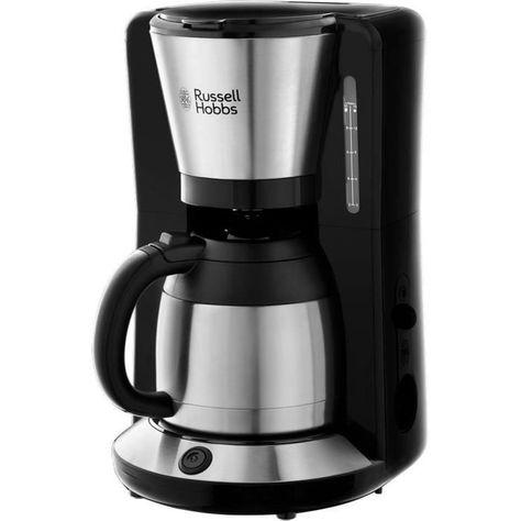 Acier Bross/é Russell Hobbs 24020-56 Machine /à Caf/é Cafeti/ère Filtre 1L Adventure Isotherme