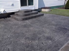 Stamped Concrete Real Help Custom Concrete Company Buffalo Ny