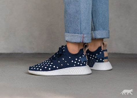 new product 00868 3eaba adidas NMD R2 PK W (Collegiate Navy   Collegiate Navy   Ftwr White)   190  MSRP