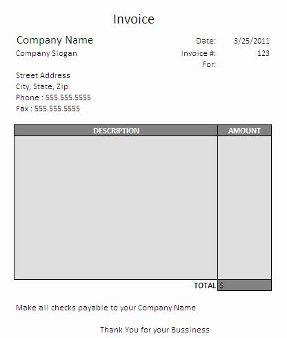 Contractor Invoice Template Free Inspirational Consulting Invoice Template Word Invoice Template Invoice Template Word Invoice Example