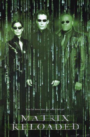 The Matrix Reloaded Masterprint Matrix Reloaded Movie Posters