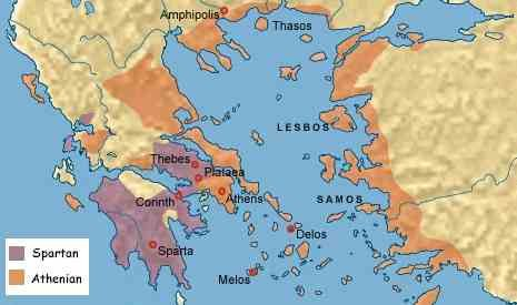 The Second To Last Class Would Be The Slaves It Was Very Common - Map of the distance between athens sparta and the us