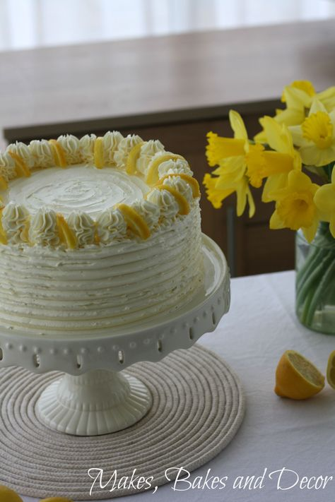 Lemon Drizzle Layer Cake Recipe With Images Lemon Drizzle