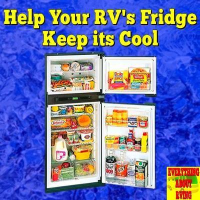 Rv Refrigerator Is Not Cold Enough Rv Refrigerator Camper