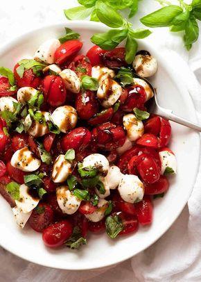 Caprese Salad Recipe Caprese Salad Recipe Healthy Recipes Recipes