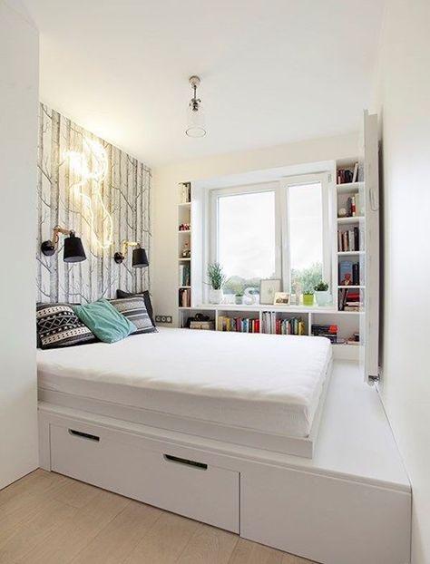 Chambre dans salon : 5 astuces - Blog Déco | Apartment ...
