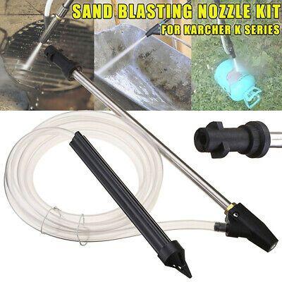 Sponsored Ebay Car Washer Accessories High Pressure Sand Blasting Hose Nozzle Wet For Bocsh Sandblasting Kit Pressure Washer Water Pipes