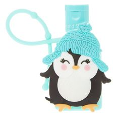 Mint Penguin Holder With Hand Sanitizer Hand Sanitizer Jewelry