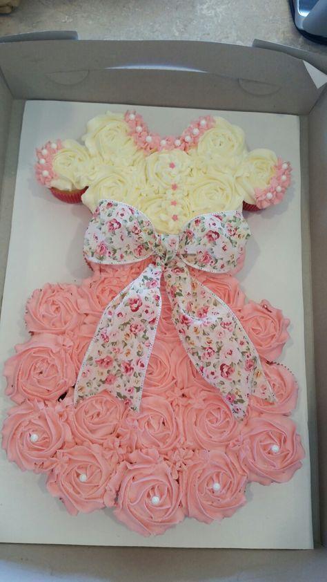 21 Trendy Ideas For Cake Girl Birthday Pull Apart Baby Shower