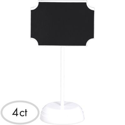 Label Chalkboard Signs 4ct Kids Party Supplies Online Party Supplies Kids Birthday Party Supplies