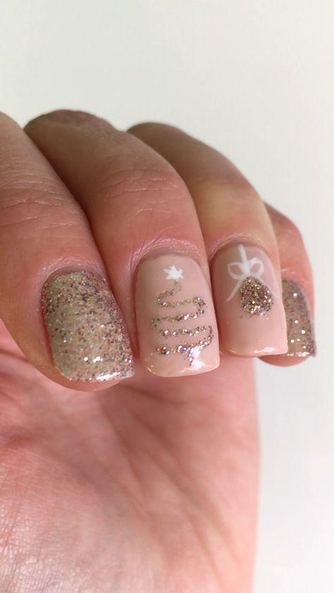 Manicure - Christmas inspiration