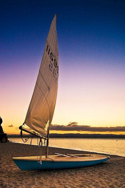 An evening sail